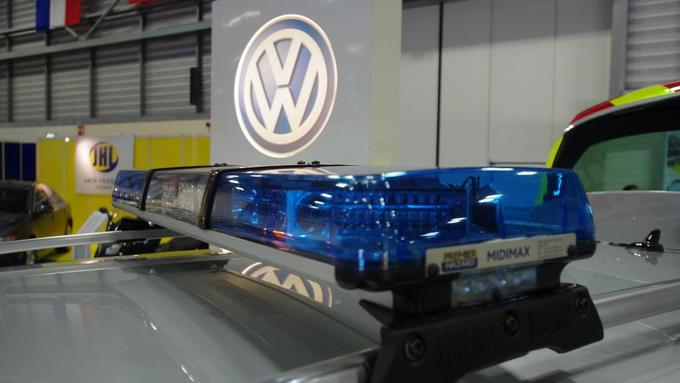 Midimax LED Lightbar Blue/Clear lens