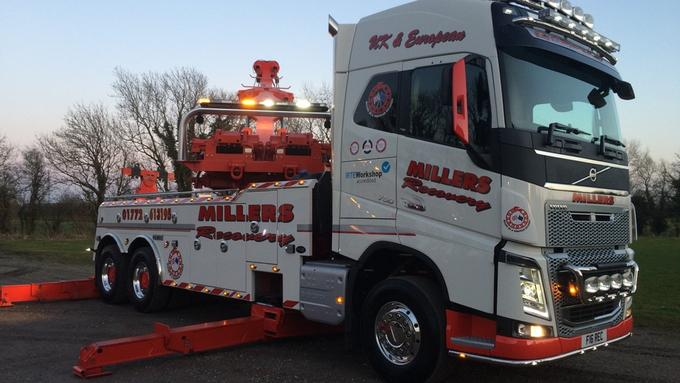 Millers Recovery to the rescue of commercial vehicles nationwide