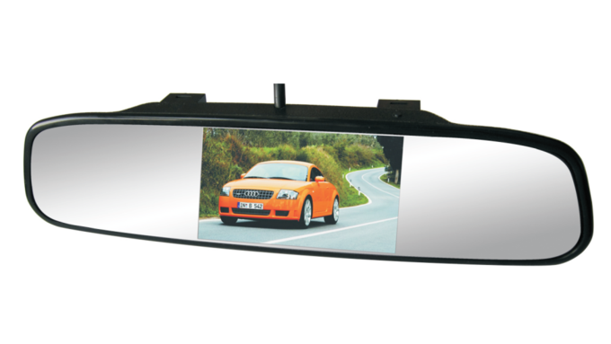 rear view mirror camera instructions