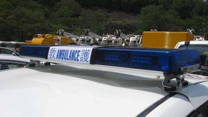 Lomax LED Lightbar on Hong Kong Ambulance.JPG