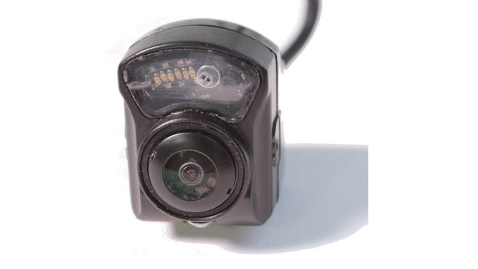 Mini Camera with IR and Microphone. In vehicle CCTV