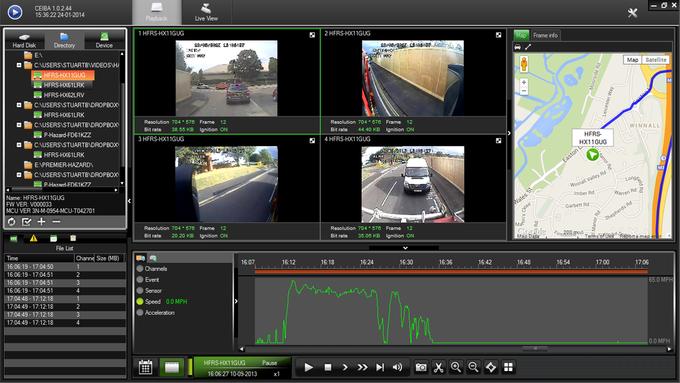 Ph Mobile Vehicle Cctv Playback Software Premier Hazard
