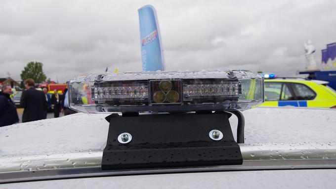 Sovereign LED Lightbar Clear Lens