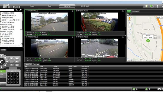 Fleetview Live In Vehicle CCTV video streaming