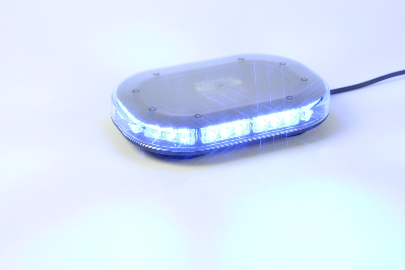 Microbar mini led lightbar lb111 series premier hazard microbe blue magnetic mount led mini lightbar aloadofball