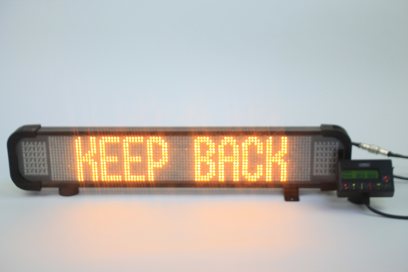 Lightbars beacons premier hazard manufacture and supply infoalert fixed message sign aloadofball Choice Image